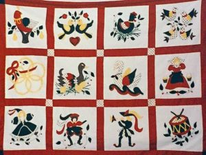 12 Days of Christmas Quilt by the Late Terry Call