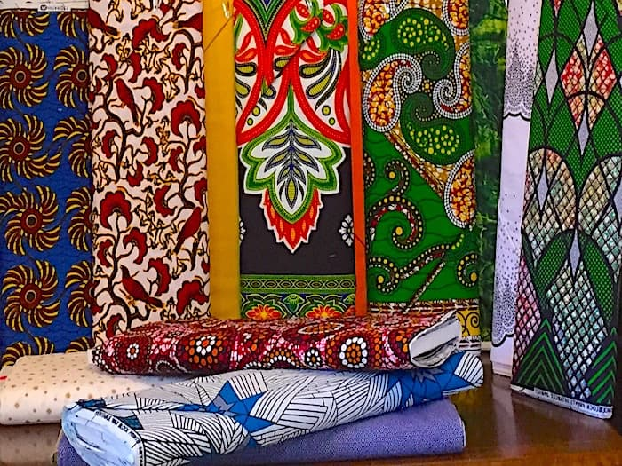 African Fabric at Dark Star Fabrics