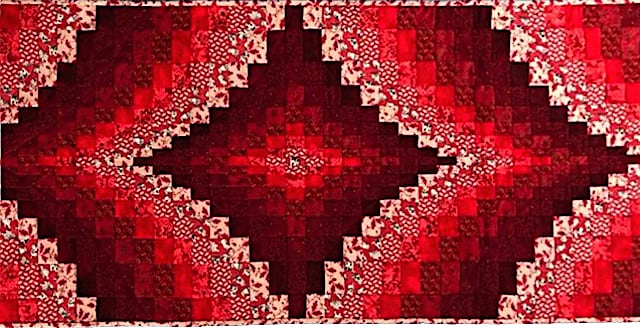 Bargello Table Runner