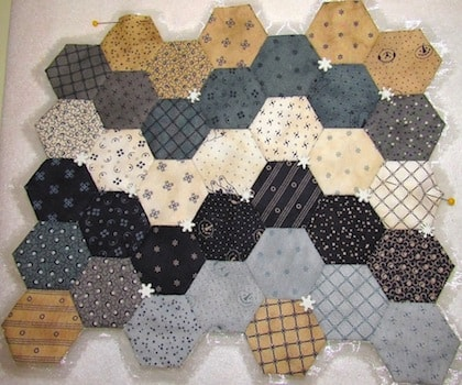 More English Paper Hexies