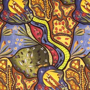Bambillah - Authentic Aboriginal Fabric