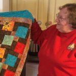 Janice White at Dark Star Fabrics