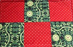 Sample Placemat - Machine Sewing for Kids Class