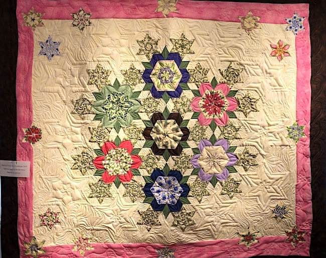 Wildflower Fantasy | Wildflowers of Maine Challenge Quilt