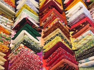 Fat Quarters at Dark Star Fabrics