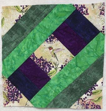 Birds and Berries of Maine Block Created by Dark Star Fabrics