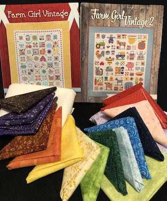 2020 Maine Quilt Shop Hop Prize from Dark Star Fabrics