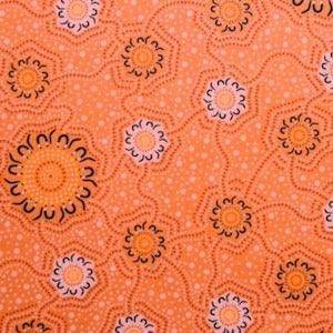 Caming Ground Noble Gold, Authentic Aboriginal Fabric