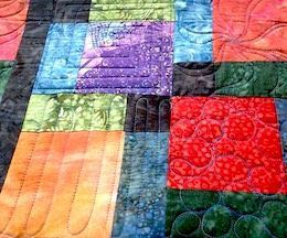 Sample Freehand Long Arm Quilting Design