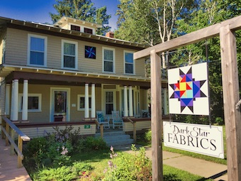Dark Star Fabrics in Phillips, Maine