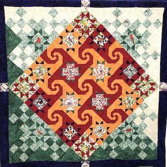 Under The Big Top, Challenge Quilt by Dark Star Fabrics