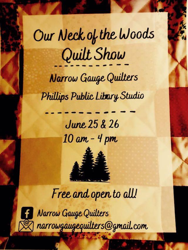 Narrow Gauge Quilters Poster